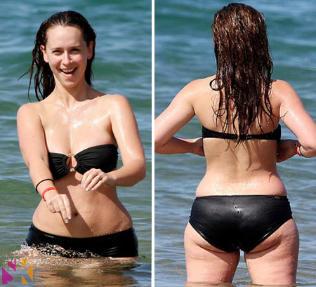 Jennifer Love Hewitt before losing weight