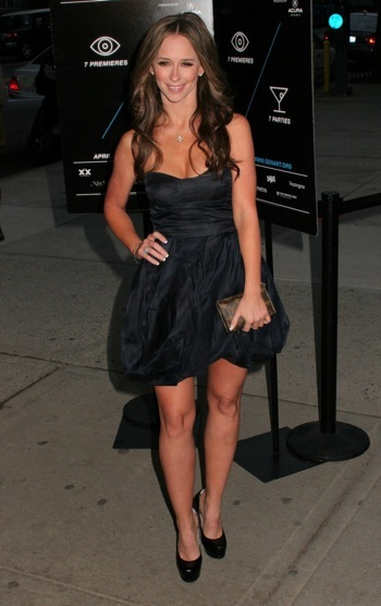 Jennifer Love Hewitt at premiere of Finding Bliss