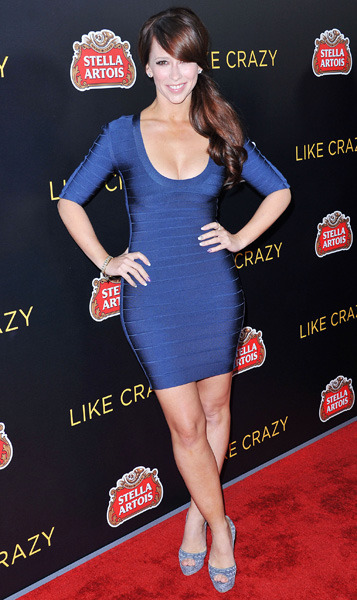 Jennifer Love Hewitt in Herve Leger by MAX AZRIA