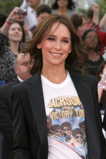 Jennifer Love Hewitt at This is It premiere