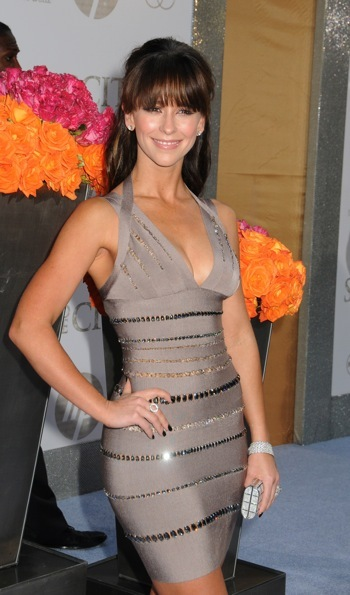 Jennifer Love Hewitt at a movie premiere