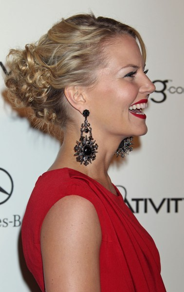 Jennifer Morrison's Curly Chic Updo