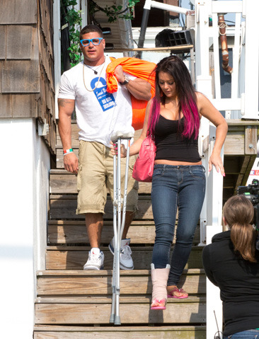 JWOWW and Ronnie