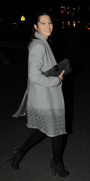 Jessica Biel in booties