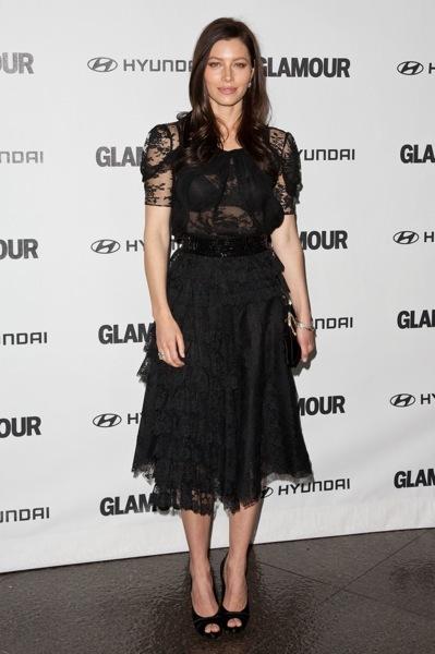 Jessica Biel in lace