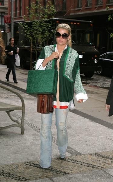 Jessica Simpson's hippie style
