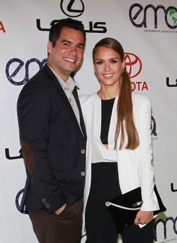 Jessica Alba and husband Cash Warren