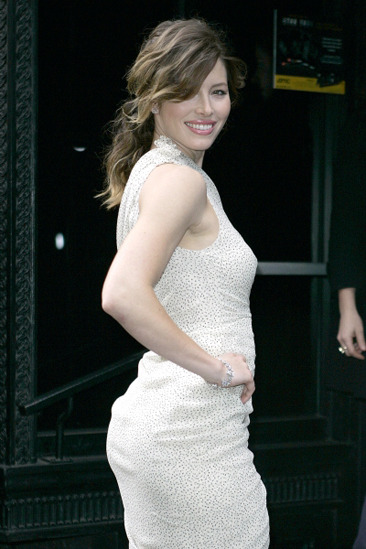 Jessica Biel is among the gifted celebs with hot hineys!