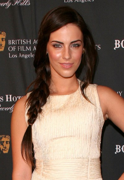 Jessica Lowndes? long, braided hairstyle