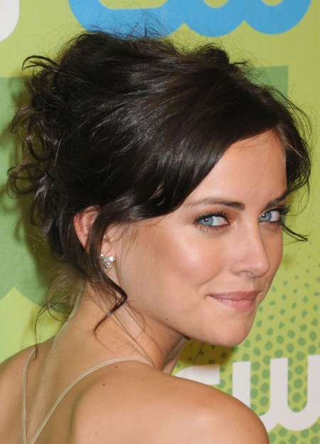 Jessica Stroup's Short Updo