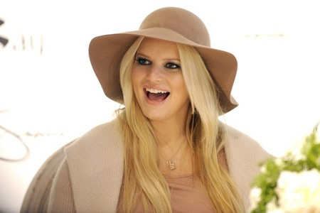 Stylish Jessica Simpson
