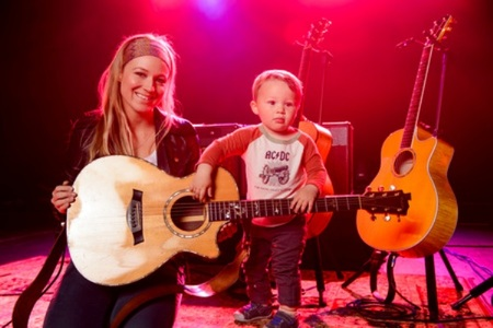 Does Jewel have a future rockstar on her hands?
