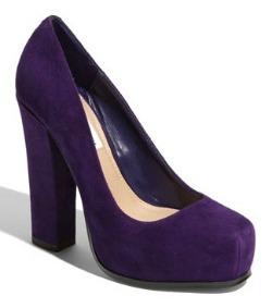 Jewel-tone heels