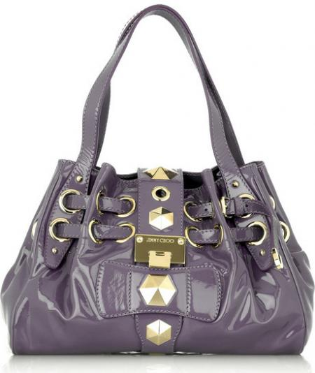 Jimmy Choo Riki Patent Bag