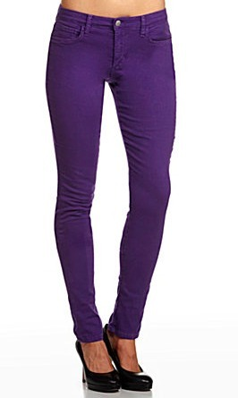 Royal Purple Skinny Jeans