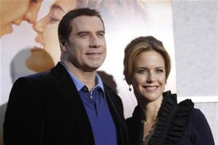 John Travolta and Kelly Preston Expecting