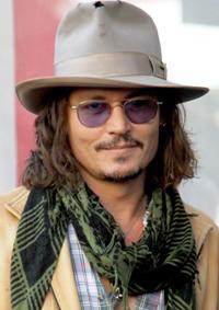 Johnny Depp head shot