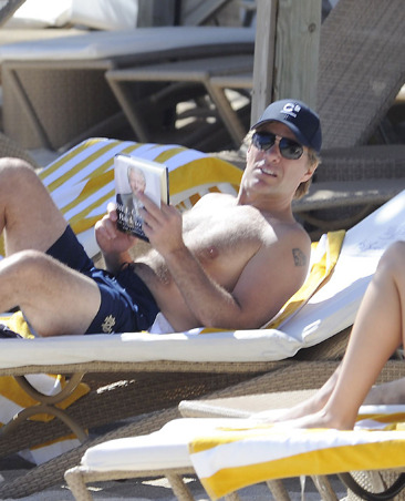 Jon Bon Jovi soaking up sun in St. Barts