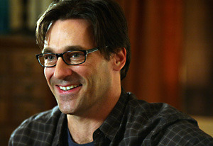 Jon Hamm in glasses
