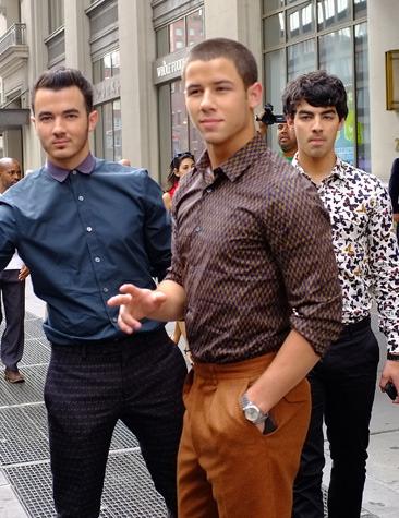The Jonas brothers