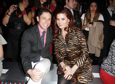 Jonathan Adler and Debra Messing