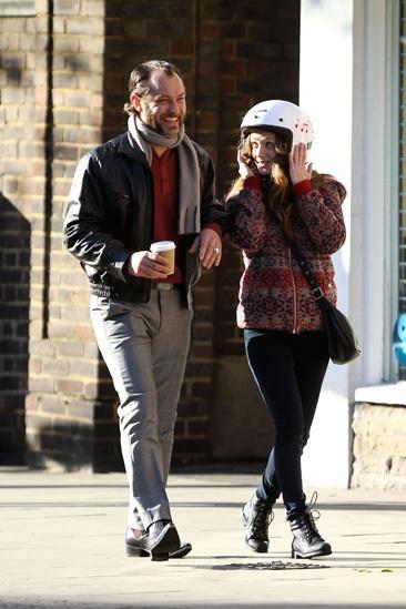 Jude Law & Emilia Clarke