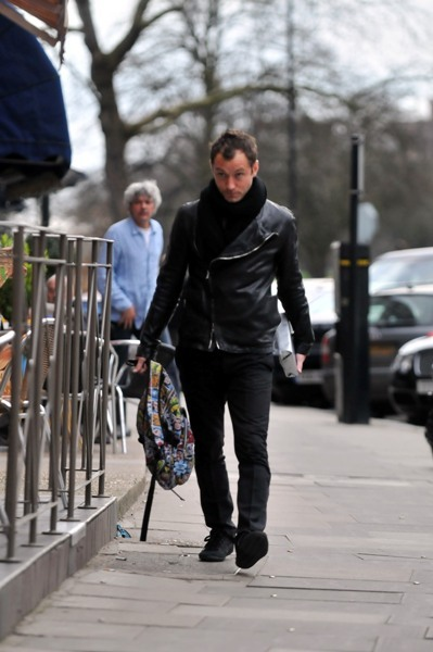 Jude Law out and about in Primrose Hill