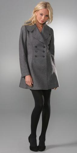 Juicy Couture A-line coat