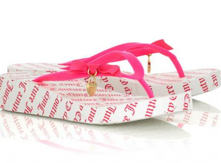 Juicy Couture Cutie Flip Flops