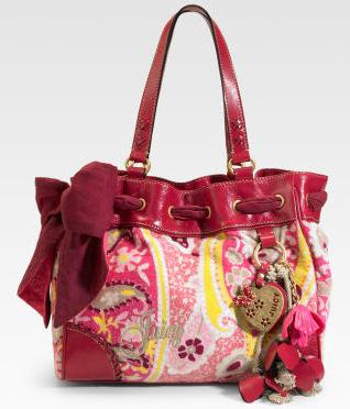 Juicy Couture Daydreamer Terry Tote