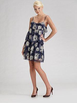 Juicy Couture Tiered Slip Dress