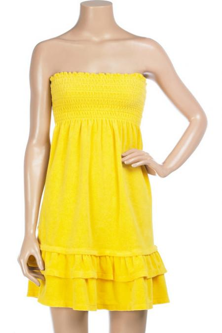 Juicy Couture Yellow Sundress