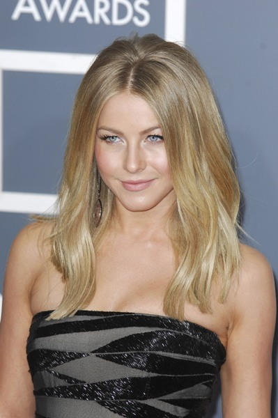 Julianne Hough classic sleek shine