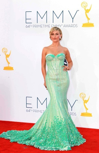 Julianne Hough at the Emmys.