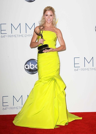 Julie Bowen at the Emmys.