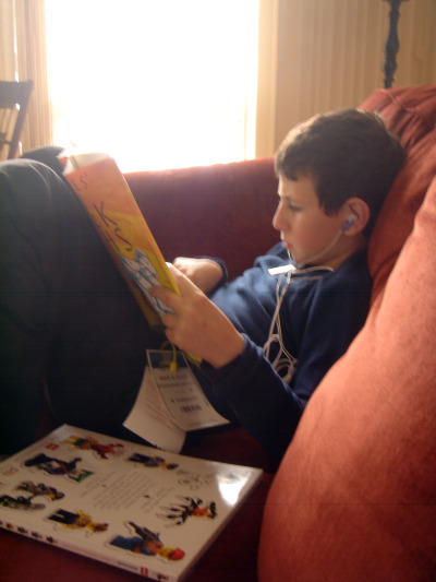 Julien Reading (9 years old)
