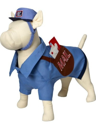 Mail Man Pet Costume