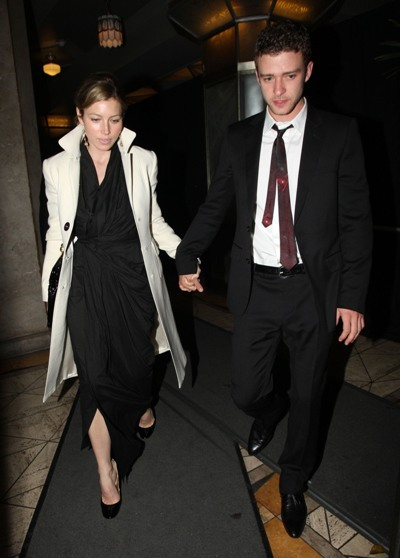 Justin Timberlake and Jessica Biel step out