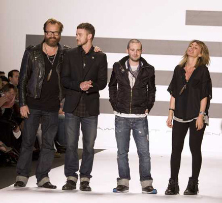 Justin Timberlake 2009 William Rast show