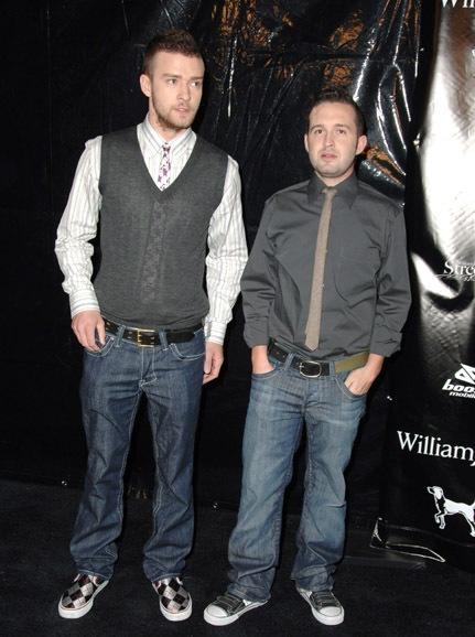 Justin Timberlake and Trace Ayala promote their William Rast clothing line