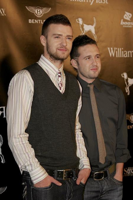 Justin Timberlake and Trace Ayala at Street Sexy