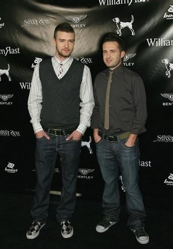 Justin Timberlake and Trace Ayala of William Rast