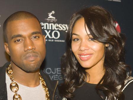 Kanye Splits with Alexis Phifer