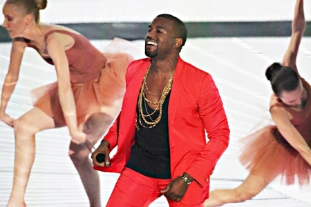 Kanye West at the 2009 VMAs