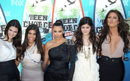 The girls at the 2010 Teen Choice Awards