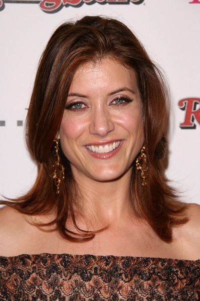 Kate Walsh in a gown