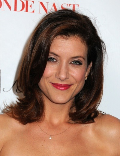 Kate Walsh with a styled bob