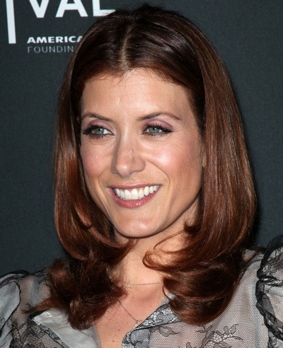 Kate Walsh with soft pink lips