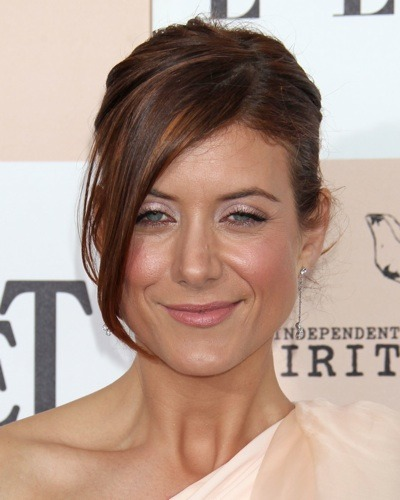 Kate Walsh with an up-do
