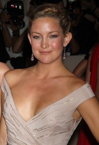 Kate Hudson in an updo